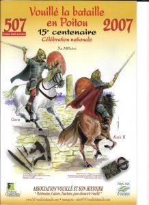 Catalogue Exposition 15e Centenaire 507-2007 Vouillé la bataill